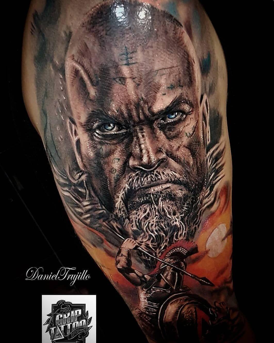 @d7tattoobarcelona Por @danieltrujillomartin Sponsor @griptattoosupplies #tattoo #tatuajecerdanyola #tattoobarcelona #tattoosabadell #tatuaje #tattooink #tatu #tatto #tattoos #retratotattoo #realismotattoo #realistictattoo #tatuajerealista #inkedup #inked #inkeeze #portraittattoo #retratotattoo
