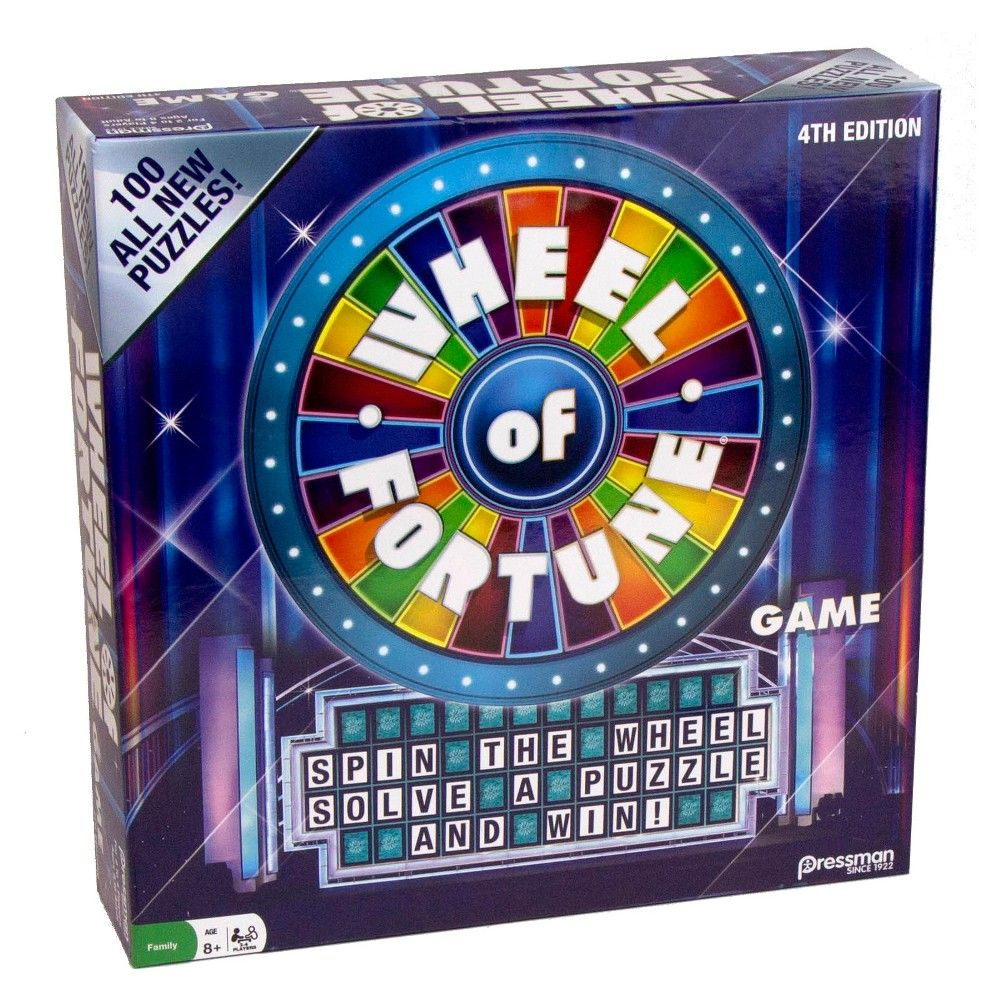 Wheel of Fortune Board Game Products in 2019 Wheel of