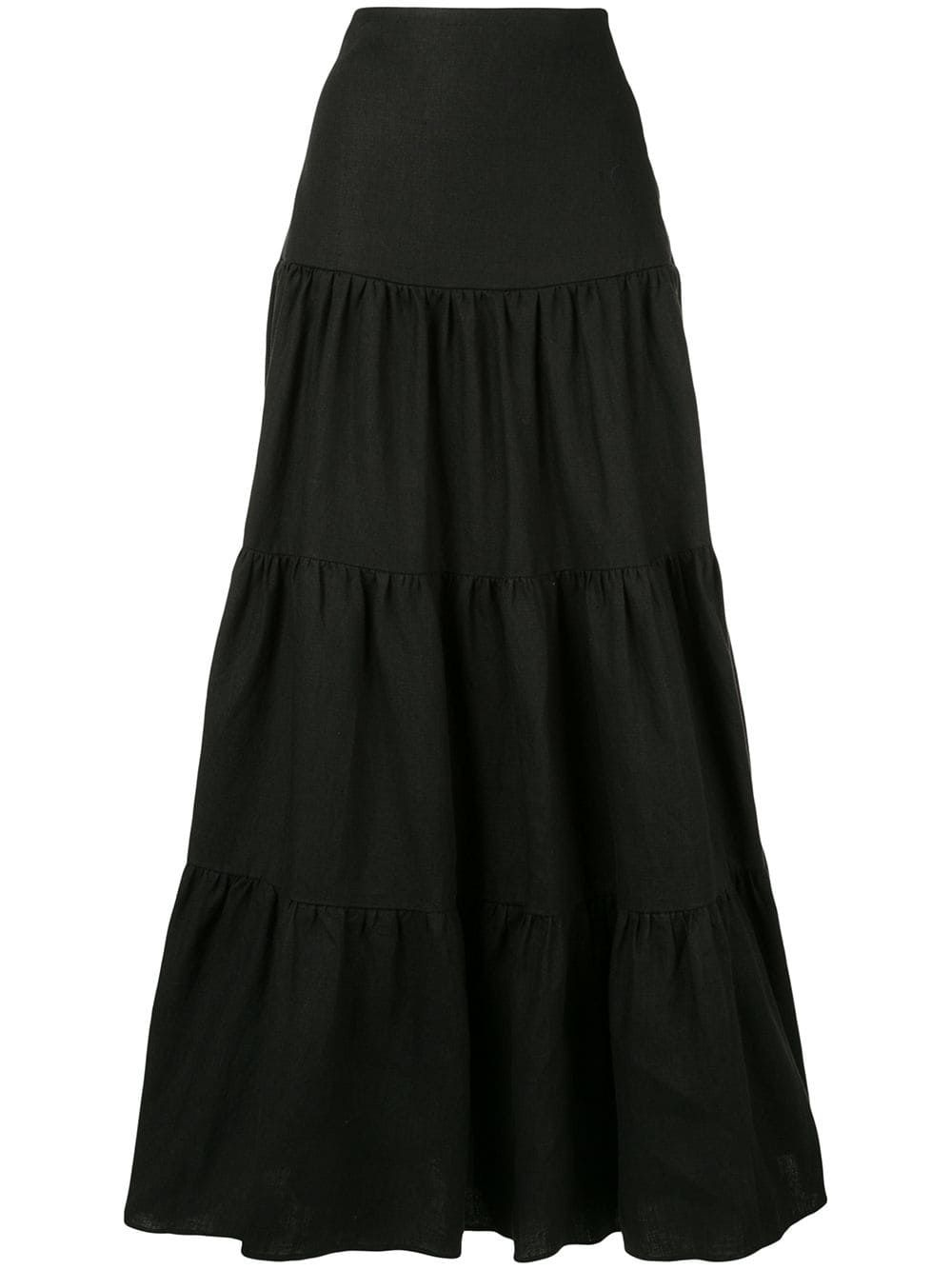 c10a2eb8db Matin Long Tiered Skirt in 2019 | Products | Skirts, Full skirts ...