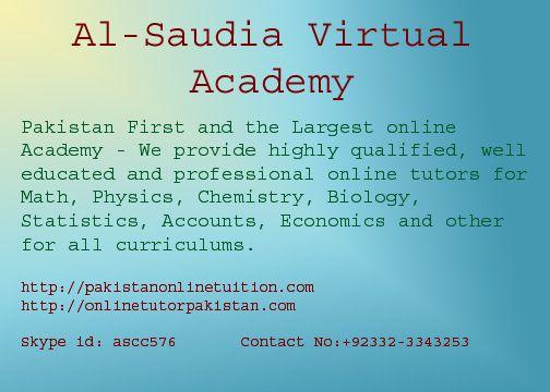 Online Tutor Pakistan Online Tuition Karachi Pakistan 92332
