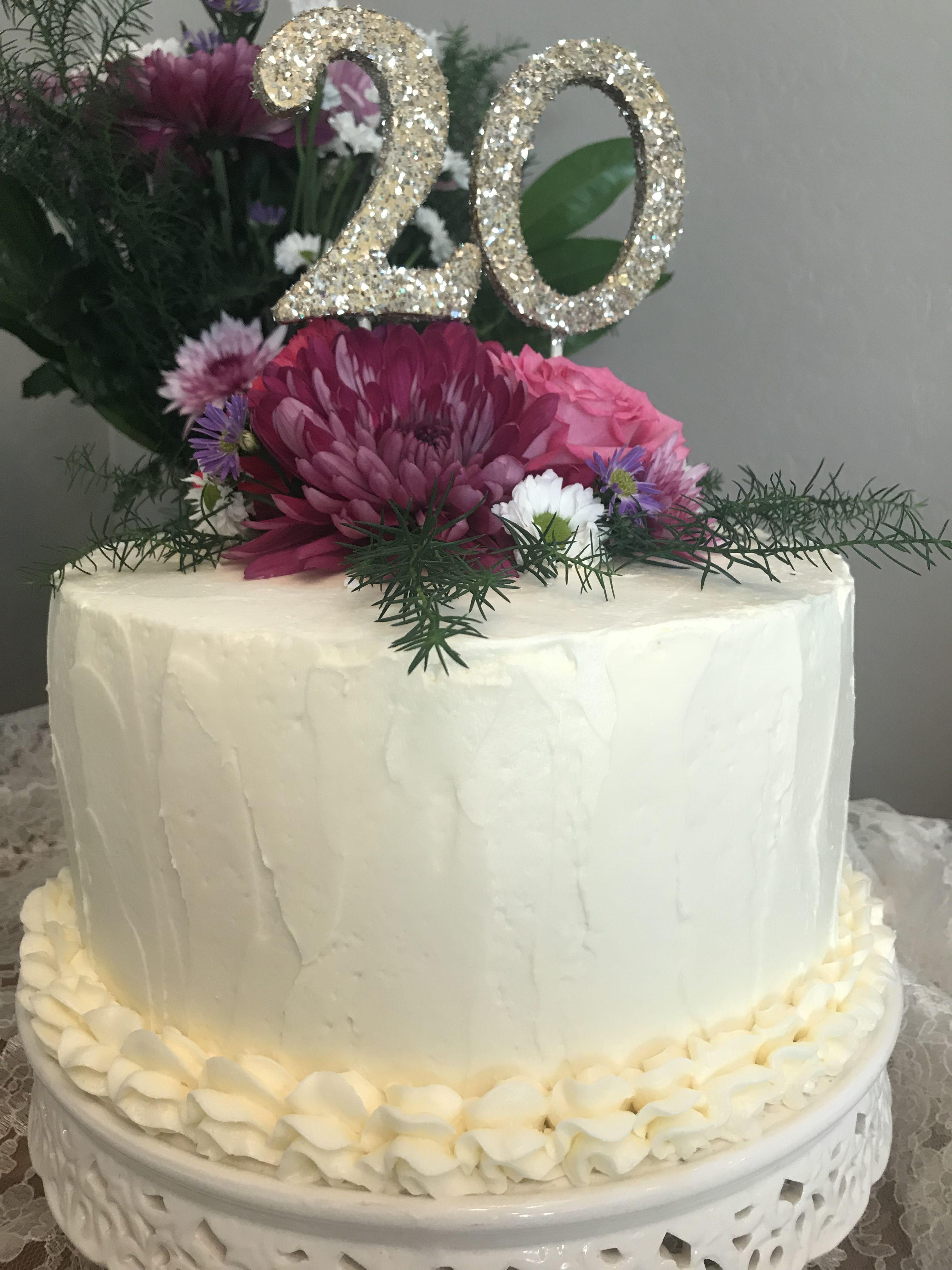 20 Year Anniversary Cake For Friends Amaretto Raspberry Cream