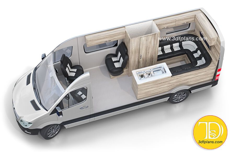 Camper Van Floor Plan Interior Layout Faroutride Van Life Diy Van Conversion Floor Plans Camper Van