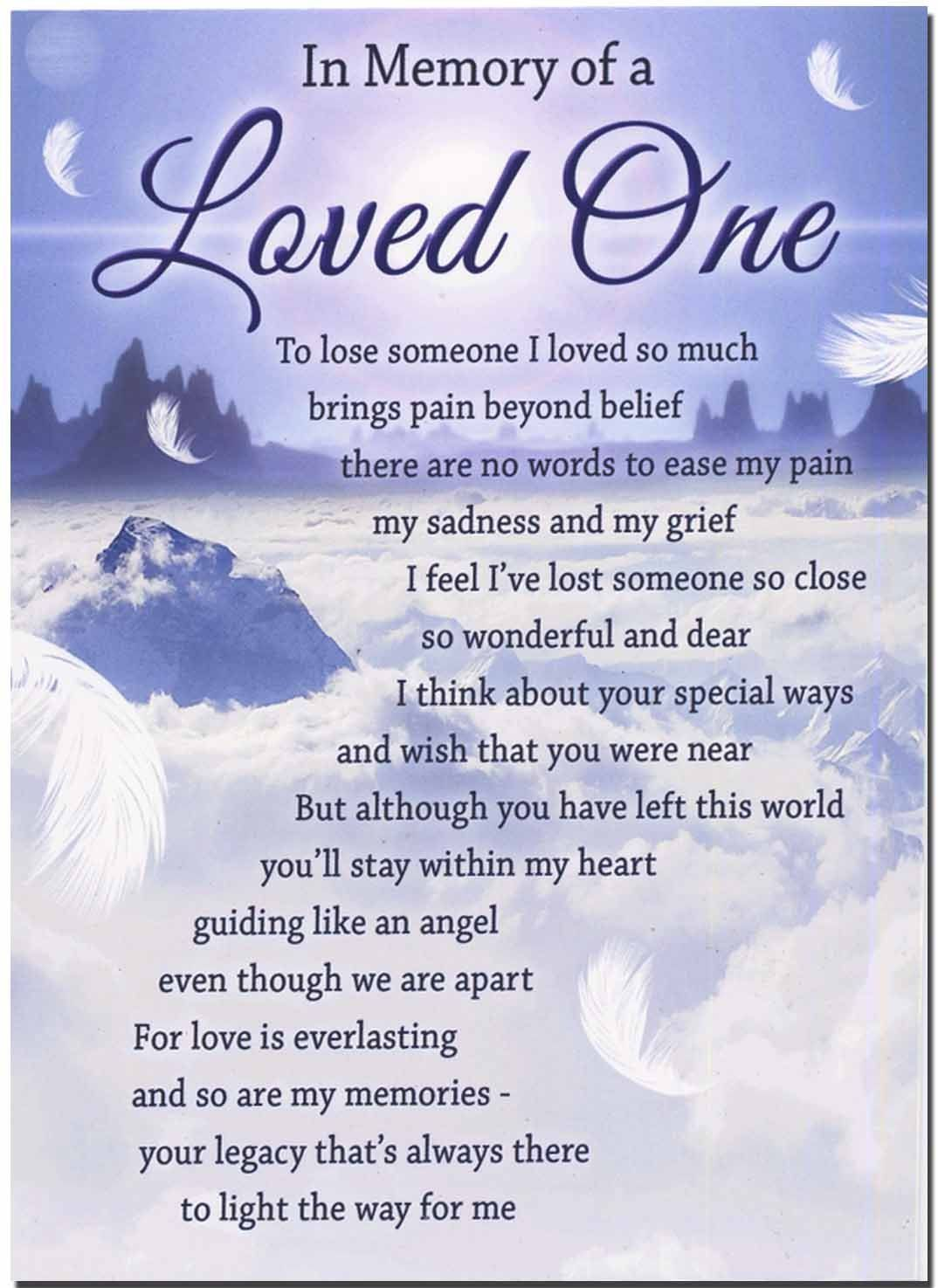 In Memory Of A Loved One My Sister Pam Loved One In Heaven
