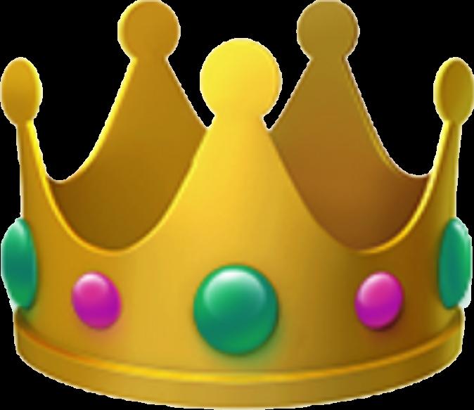 Emoji Crown Sticker By Natalia Emoji Novelty Lamp Crown