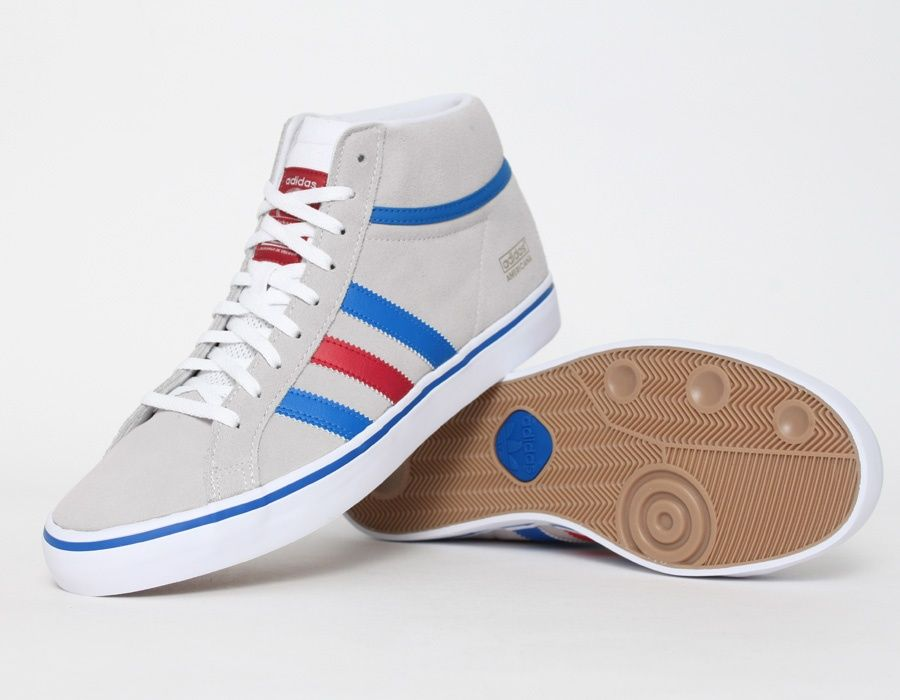 Skateboarding Vin 1 Up Shoes Mid Part Americana Adidas Z8qwq
