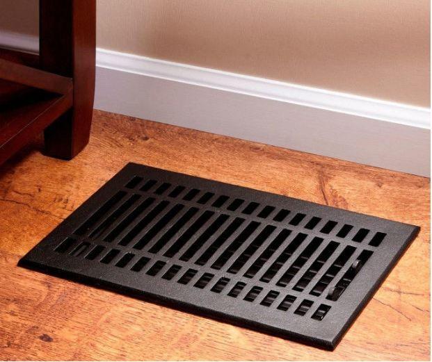 Contemporary Cast Iron Floor Register Floor Registers Floor Vent Covers Signature Hardware