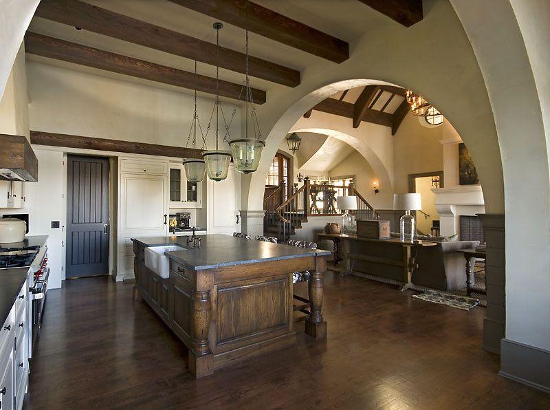 Old World Lakehouse - kitchen - other metro - Wright Design