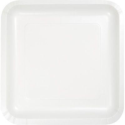 Touch of Color White Solid Color Square Paper Salad/Dessert Plates Wholesale u2026  sc 1 st  Pinterest & Touch of Color White Solid Color Square Paper Salad/Dessert Plates ...