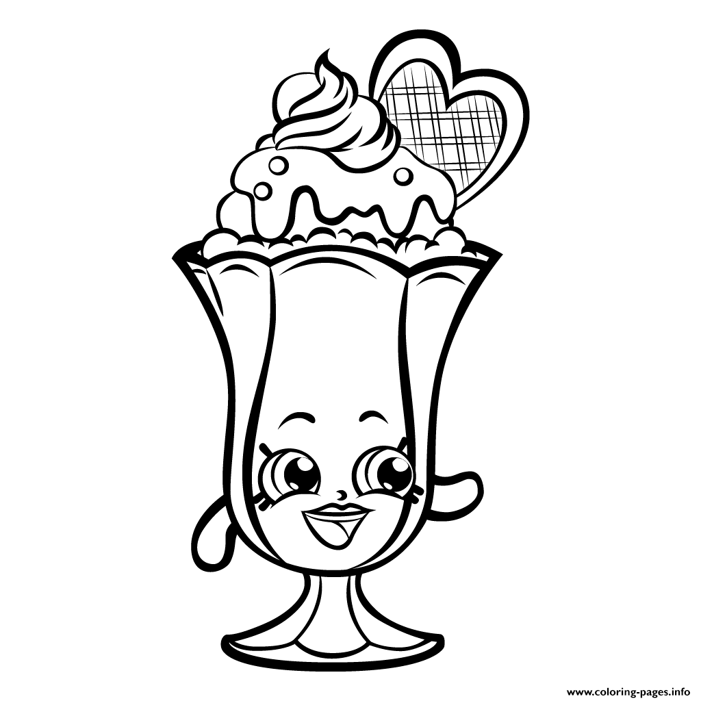Print Suzie Sundae Printable Shopkins Season 3 Coloring
