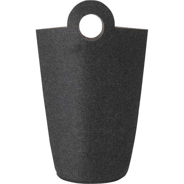 Souvent HEMA panier à linge - 60 x 30 cm - feutrine - gris HEMA | Chambres  WY21