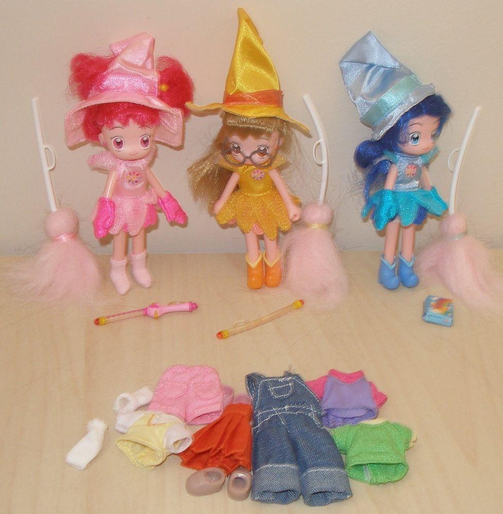 ANIME OJAMAJO MAGICAL DOREMI GIRLS DOLL SET WITH