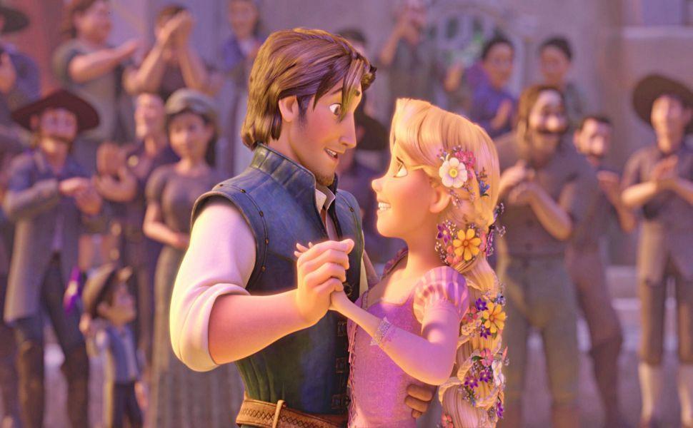 Rapunzel And Eugene HD Wallpaper