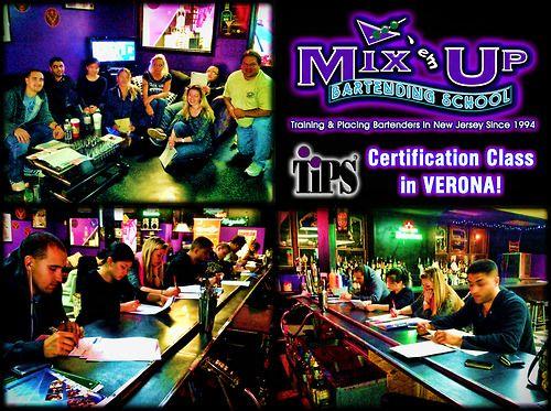 bartending certification tips verona bartenders rocking nj em mix class ems jersey