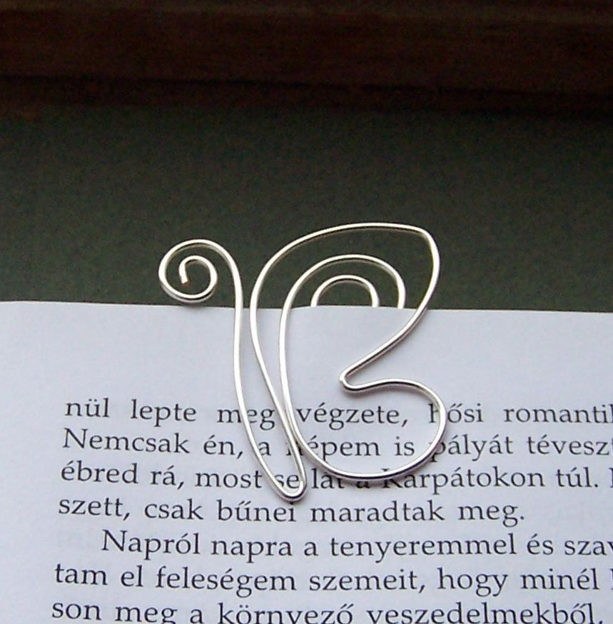 Butterfly wire bookmark by TuranianWalk on Etsy, $6.50 | Bookmarks ...