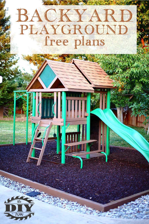 How To Build A Backyard Playground Diy Playground Backyard Playground Playground Backyard diy playground ideas