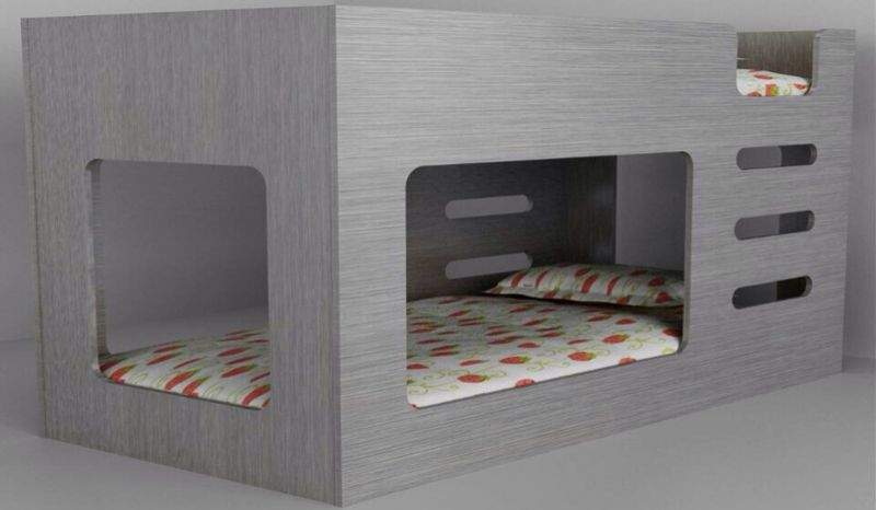 A Modern And Contemporary Take On The Bunk Bed. The Kube Bunk Bed Will Look  Great In A Modern Bedroom And Features A Simple Yet Clever Design.