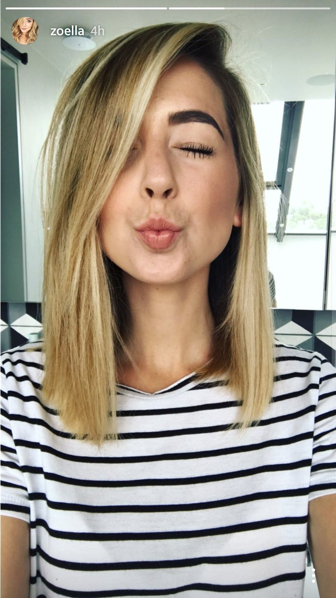 Pin By Anja Messy Wifey On Hairstyles Zoella Hair Hair Styles Zoella
