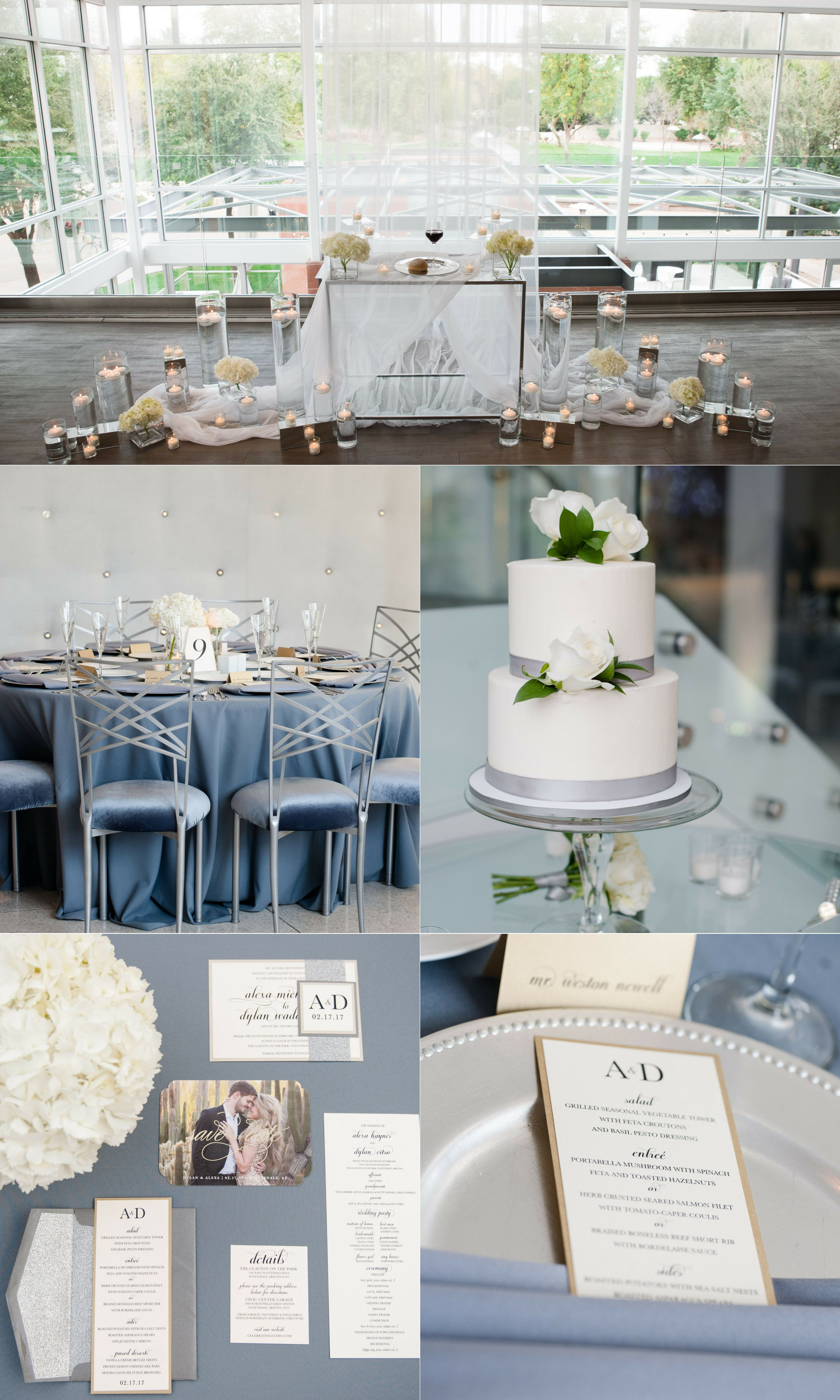 Gray And White Modern Wedding Venue: Grey White Wedding Venues At Websimilar.org