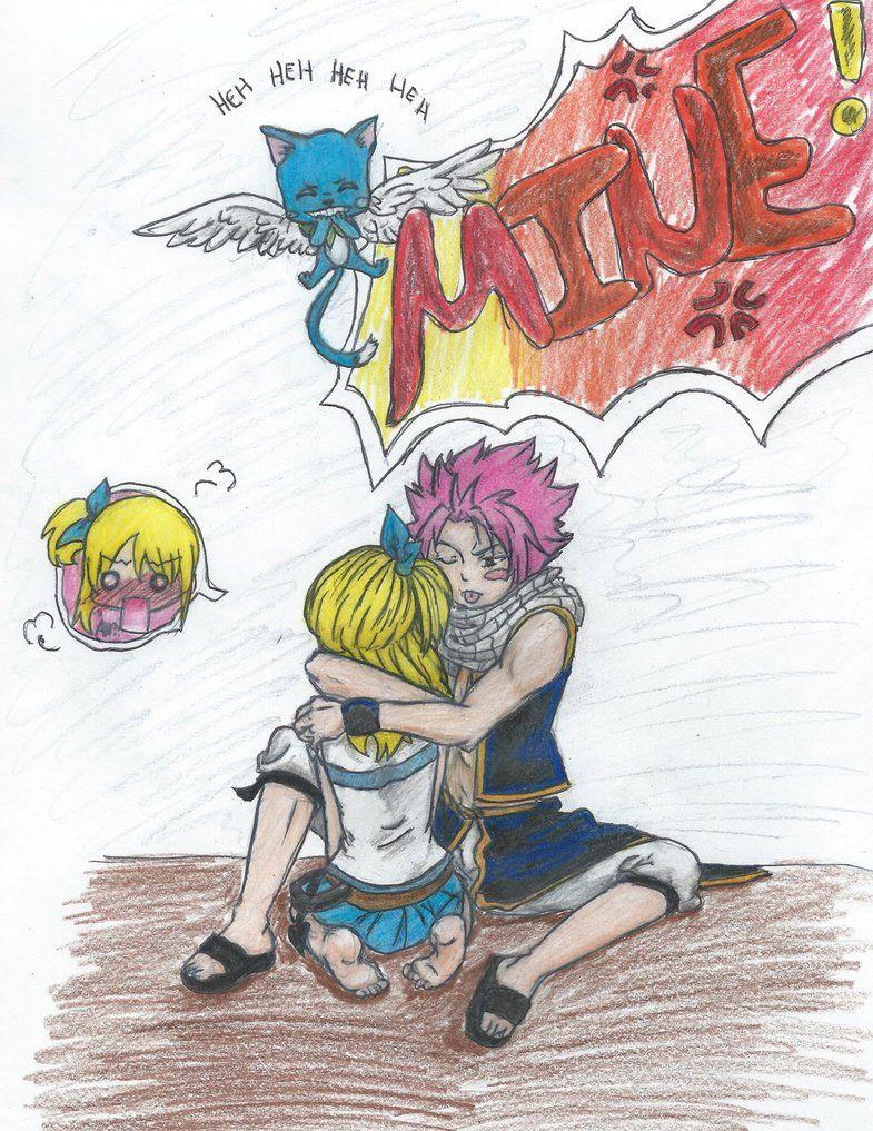 NaLu Mine COLORED by Inubaki Fairy tail anime, Fairy