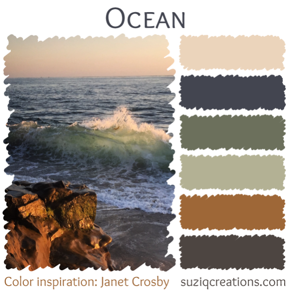 Beautiful Colors of the Pacific Northwest - SuziQ Creations