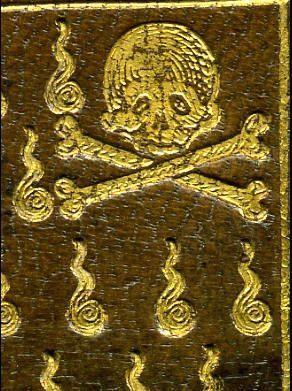 Reliure de la Compagnie des Confrères de la mort, 1586 #reliure