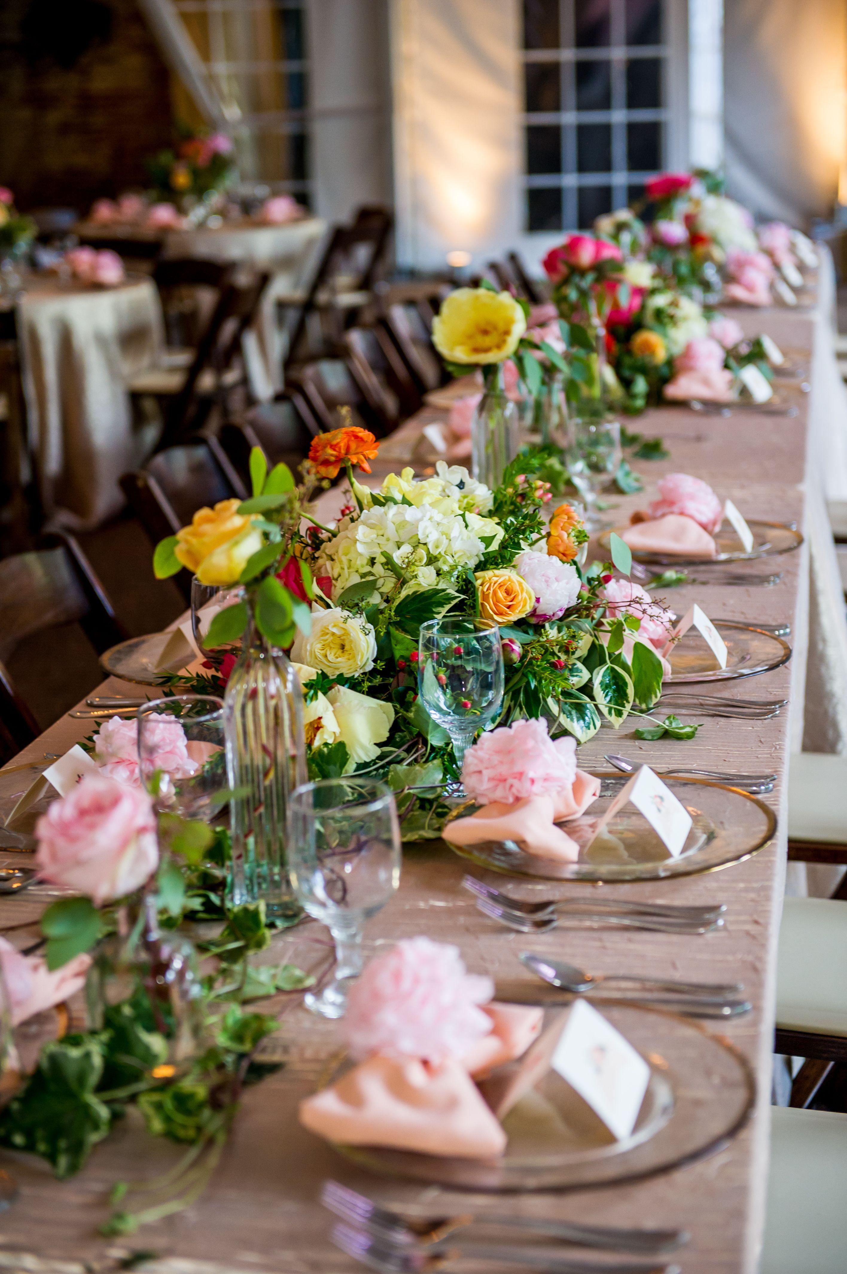 Lovely Tablescape for Wedding Reception @ riverwoodmansion.com | http://enchantedfloristtn.com/ | http://www.acephotographs.com/