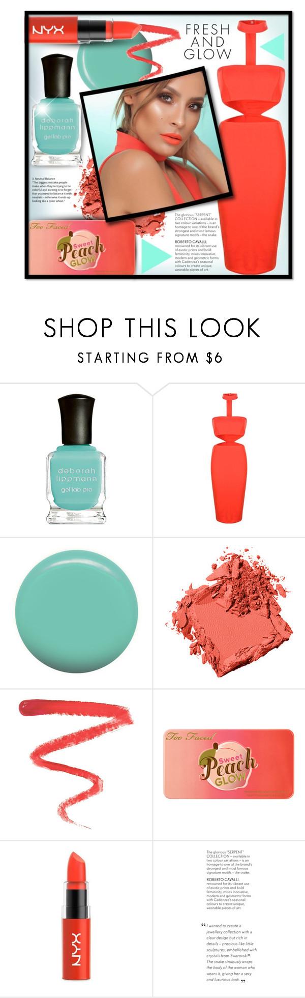 """#741 - Minty Fresh & Choker Dress"" by lilmissmegan ❤ liked on Polyvore featuring beauty, Deborah Lippmann, Boohoo, Jin Soon, Bobbi Brown Cosmetics, Ellis Faas, Too Faced Cosmetics, NYX, Beauty and mint"