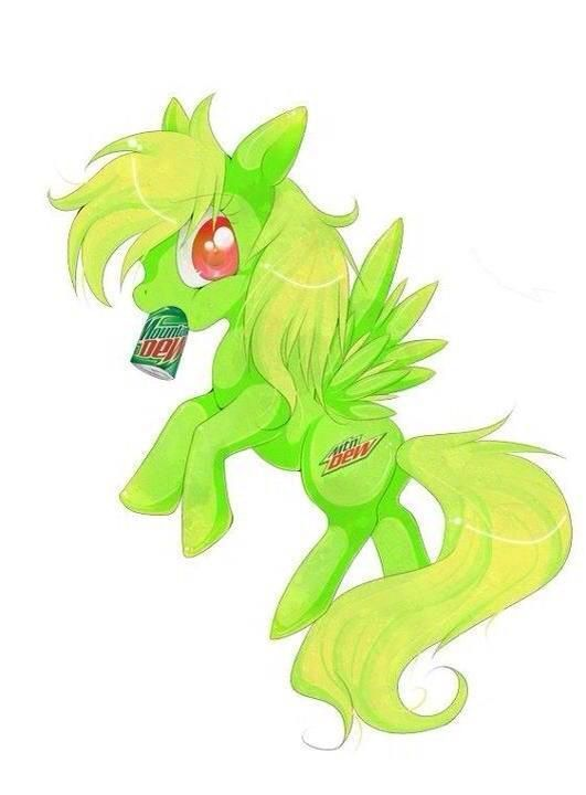 The Mountain Dew Pony