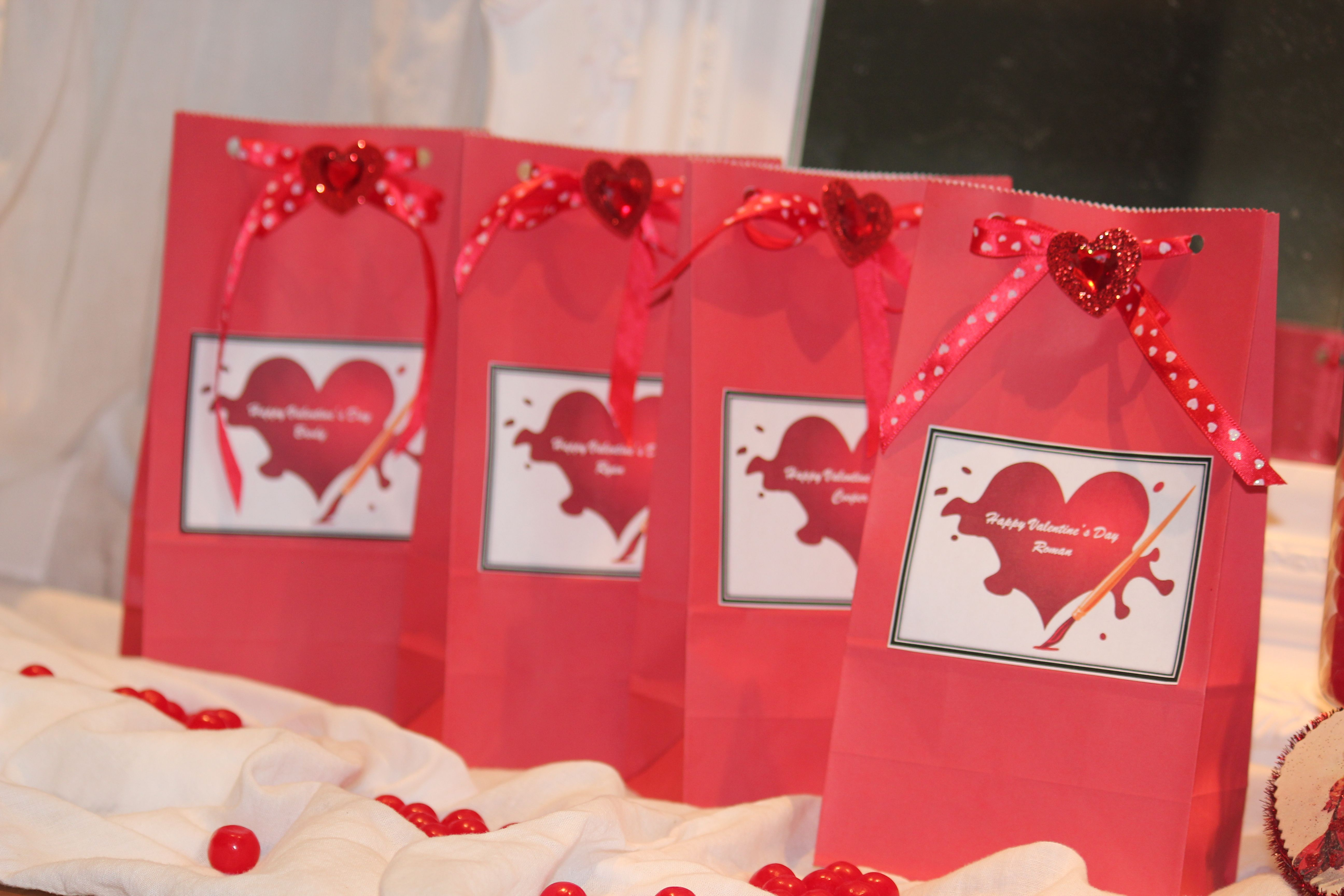valentines day goody bags