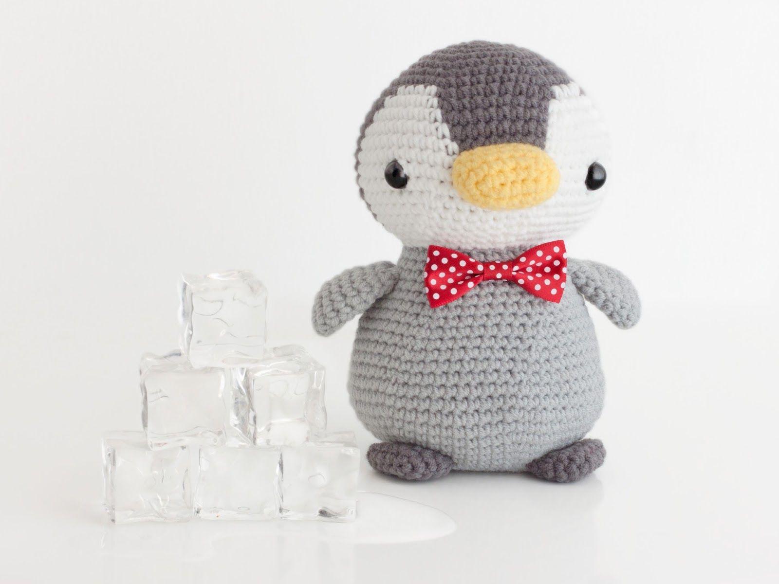 Amigurumi Pingüino - Amigurumi Penguin   Amigurumis   Pinterest
