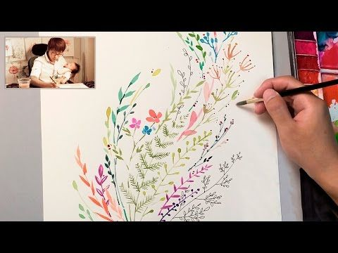 Jay Art Watercolor Painting Tutorial For Beginners X2f