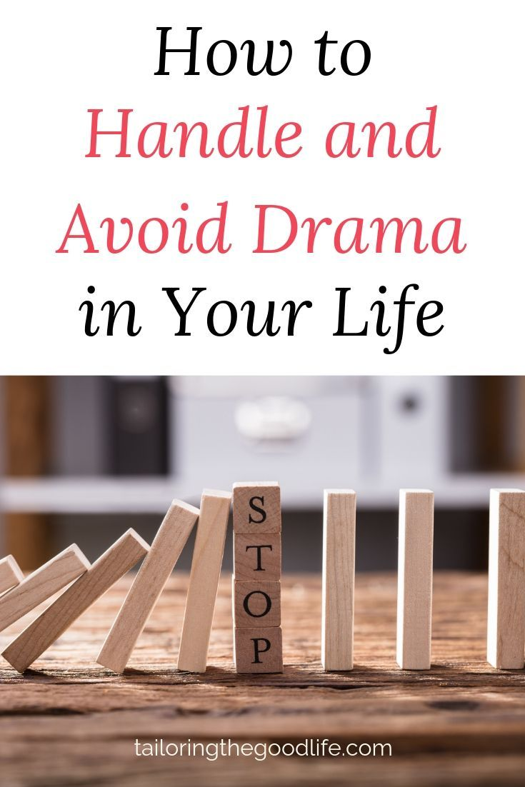 How to handle and avoid drama in your life working mom