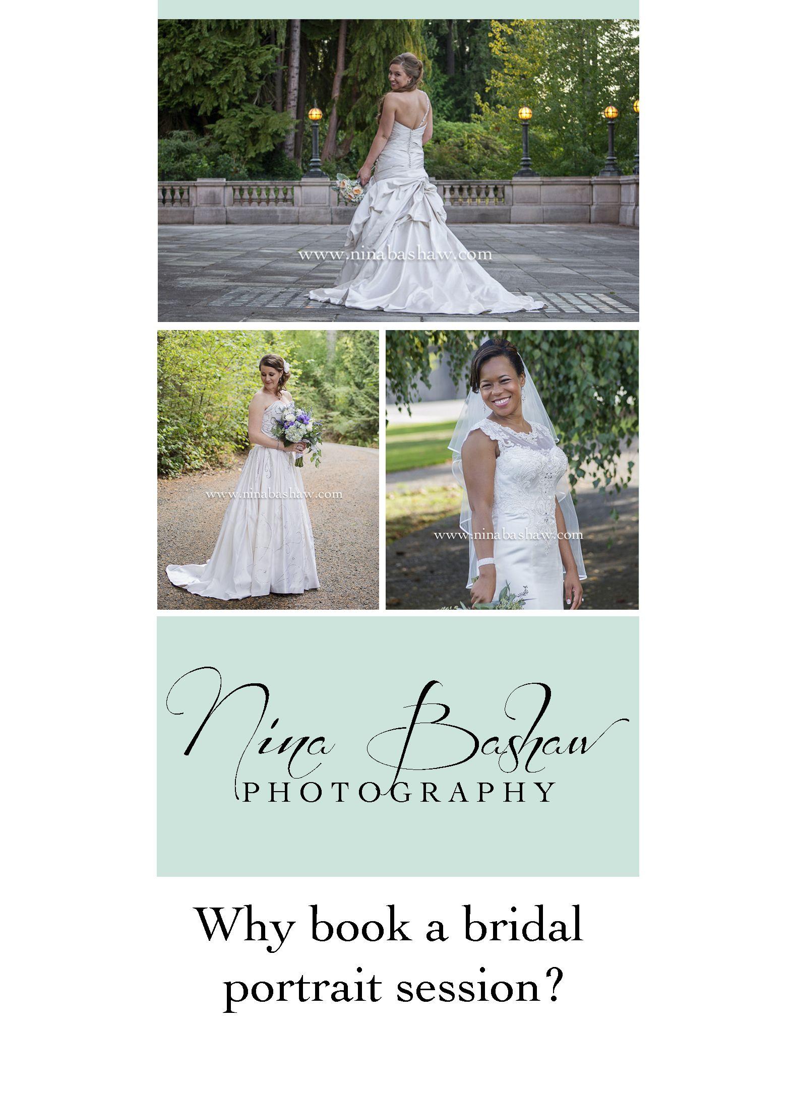 Why book a bridal session nina bashaw photography olympia wa