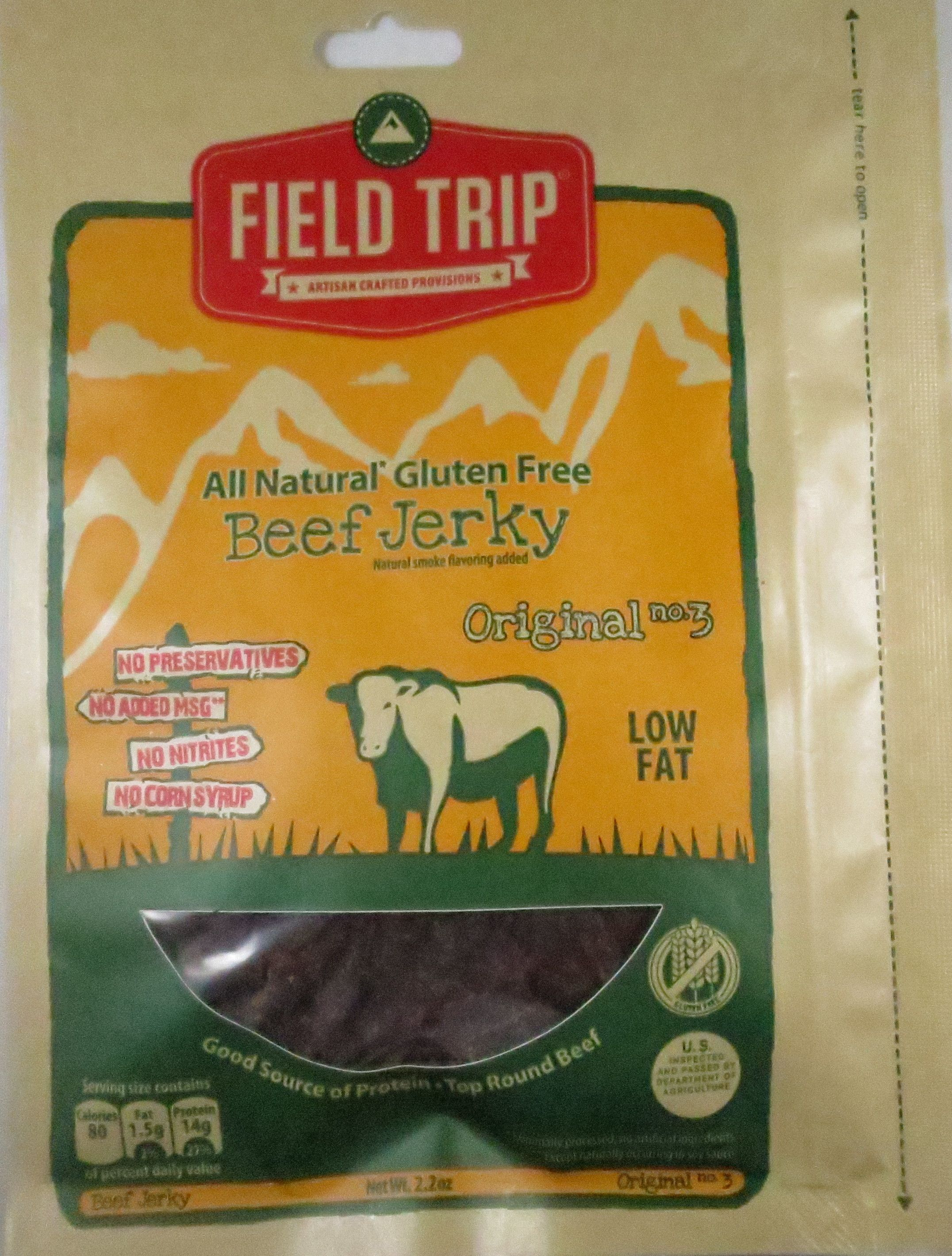 Discover How Field Trip Fared In A Review On Their Original No 3 Beef Jerky Flavor Http Jerkyingredients Com 2015 09 Beef Jerky Jerky Gluten Free Beef Jerky