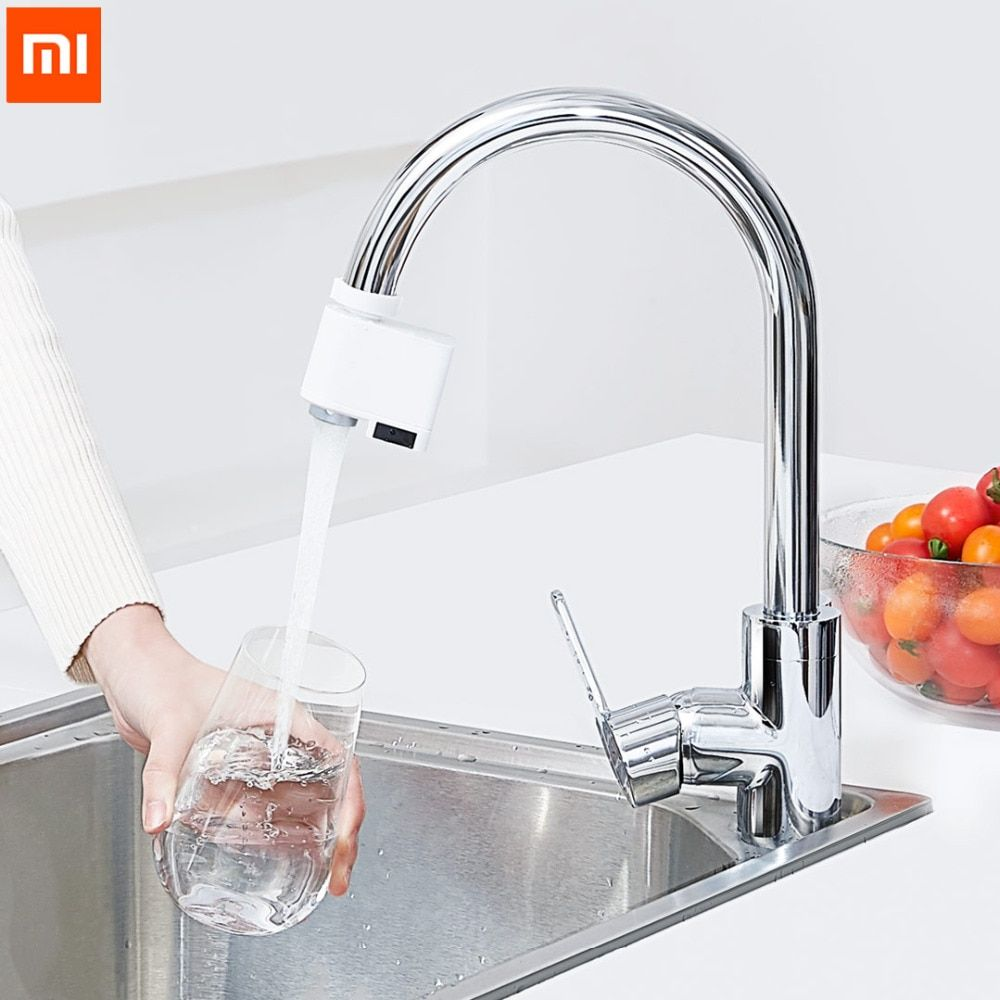 Xiaomi Zajia Induction Water Saver Intelligent Infrared Induction In 2020 Smart Faucet Water Saving Devices Faucet Extender