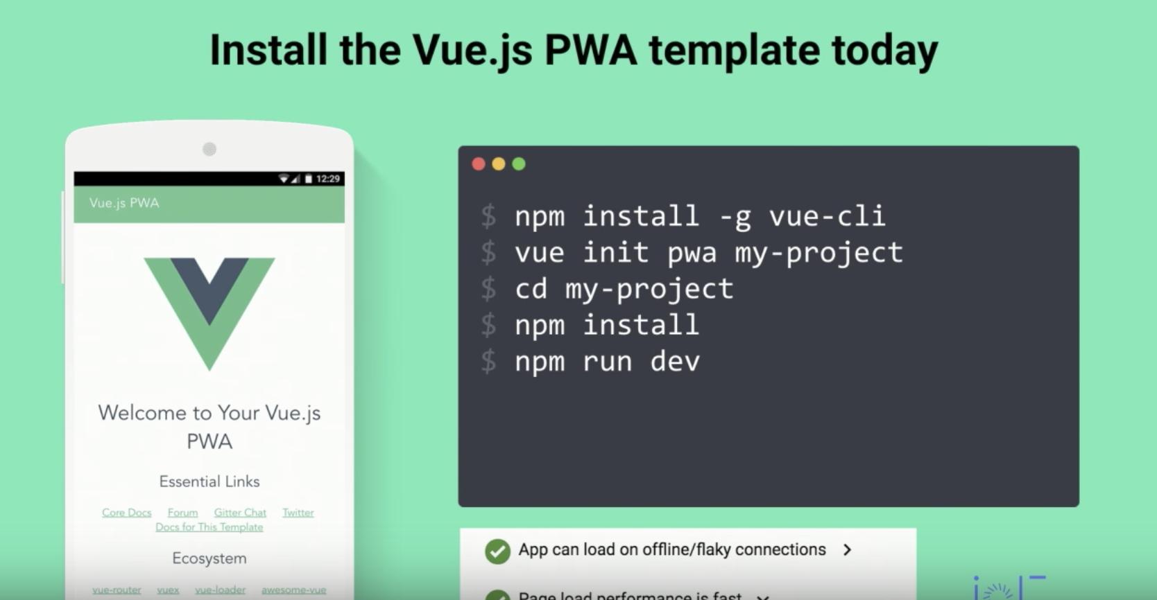 Production Progressive Web Apps with JavaScript Frameworks
