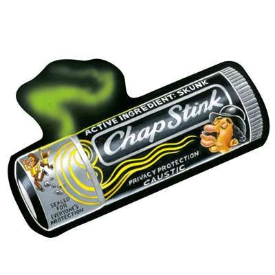 Chapstink: Topps Wacky Packages Wall from WALLS 360. http://www.walls360.com/wackypackages Graphics