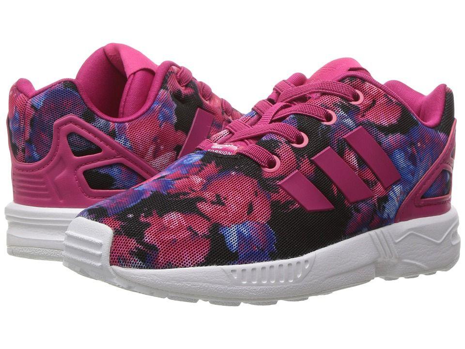 e05d5f83a adidas Originals Kids ZX Flux (Toddler) Girls Shoes Bold Pink Bold Pink