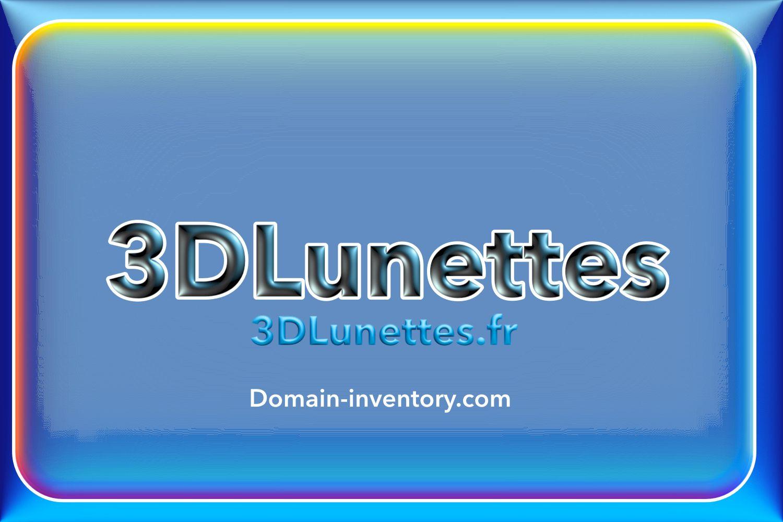 3DLunettes.fr for sale at sedo for 3000 EUR.