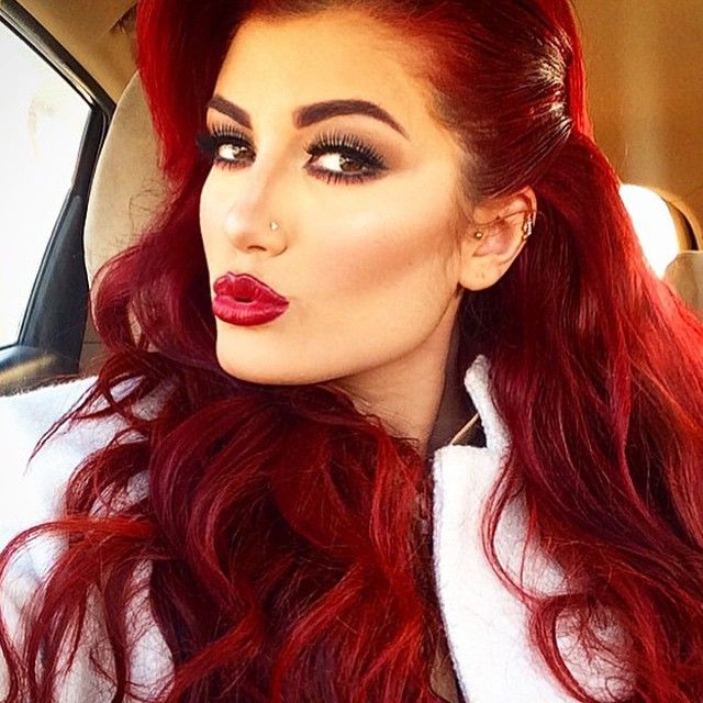 Ruby Red Goshhh This Color Is Amazing Hair In 2019