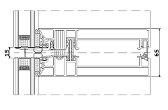 Image Result For Unitised Curtain Wall 4 Way Stack Joint Detail