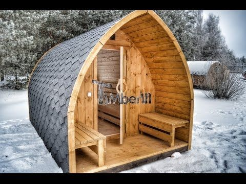 au ensauna mit vorraum und holz elektroofen igloo mit panoramafenster garten pinterest. Black Bedroom Furniture Sets. Home Design Ideas
