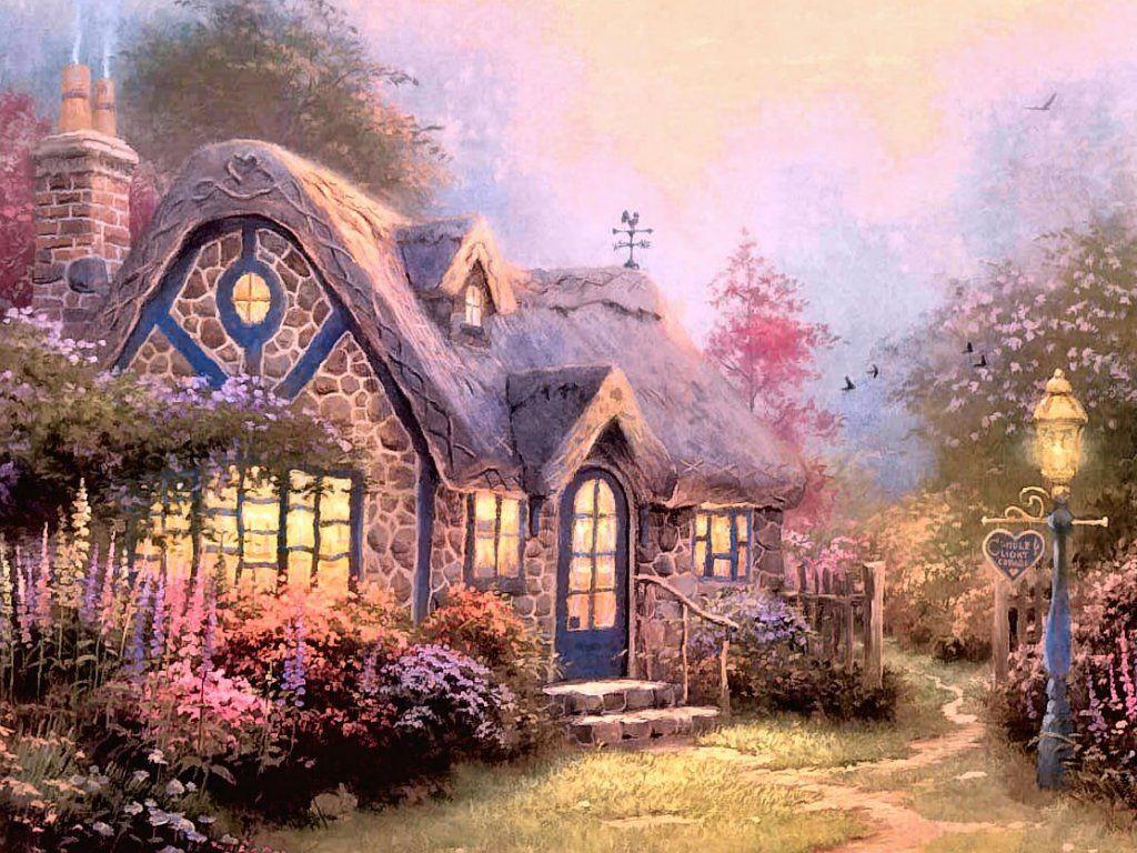 жителей сказочные домики картинки хорошего качества делает поверхность гладкой