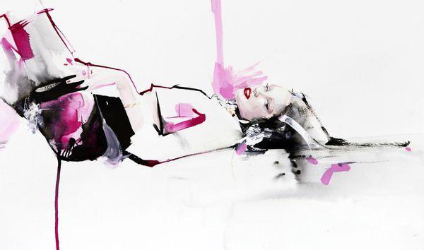 Garytu's fashion illusration 037 on the Adweek Talent Gallery