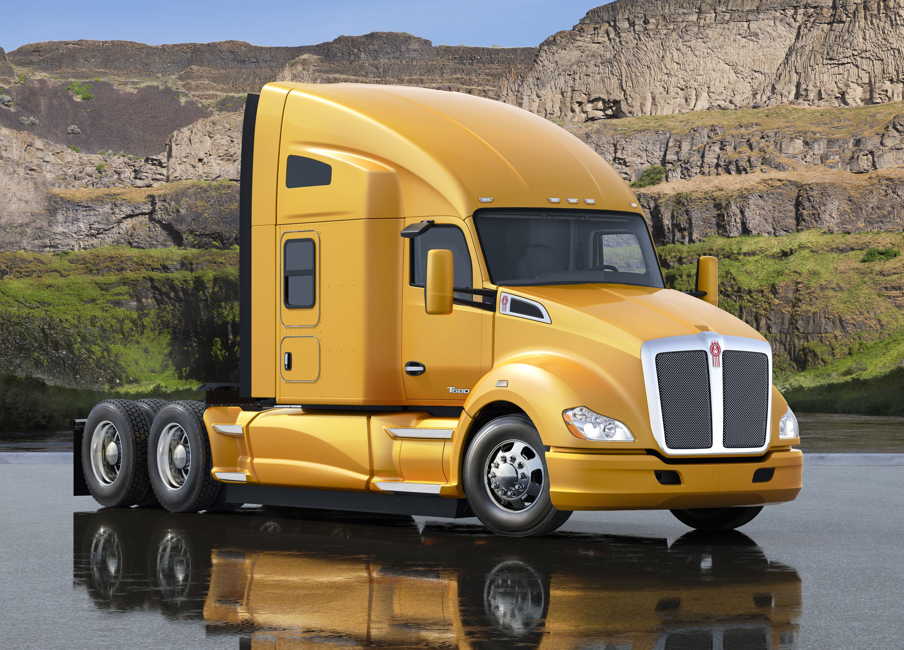Kenworth T680 Idle Management System With Images Kenworth