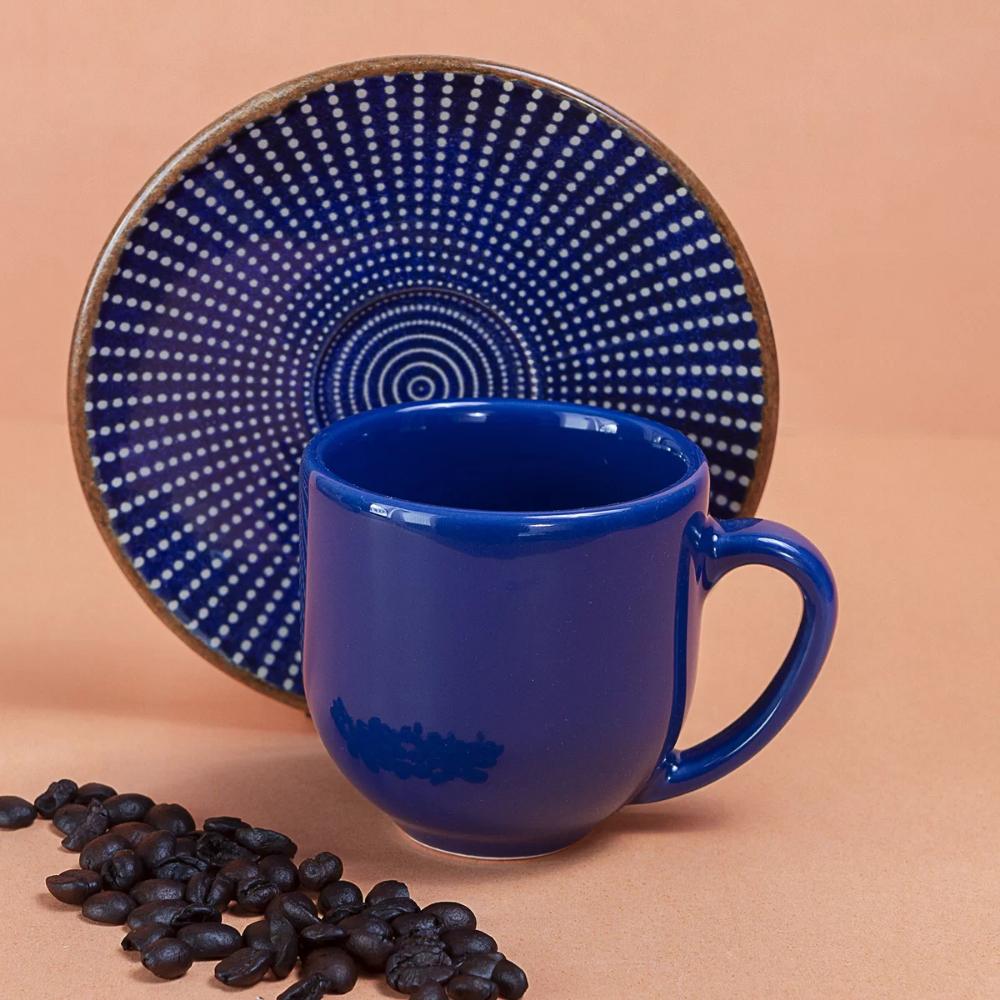 Xicara De Cafe Com Pires Target De Porcelana Azul Porcelana Azul Xicara De Cafe Cafe