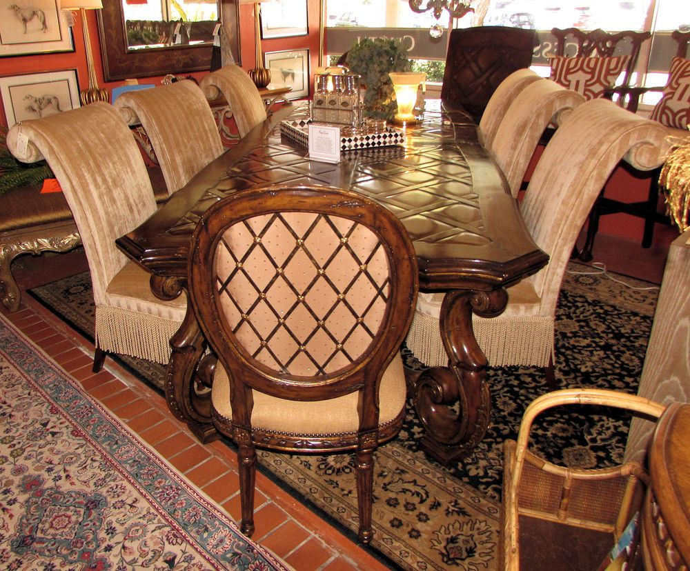 inspiration design master chairs. MARGE CARSON Vouvray Dining Table VV21 w 2 Marge Carson  6 Designmaster Chairs