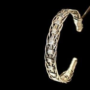 Stainless Steel Wire Bracelet Handmade Jewelry For Men Or Women