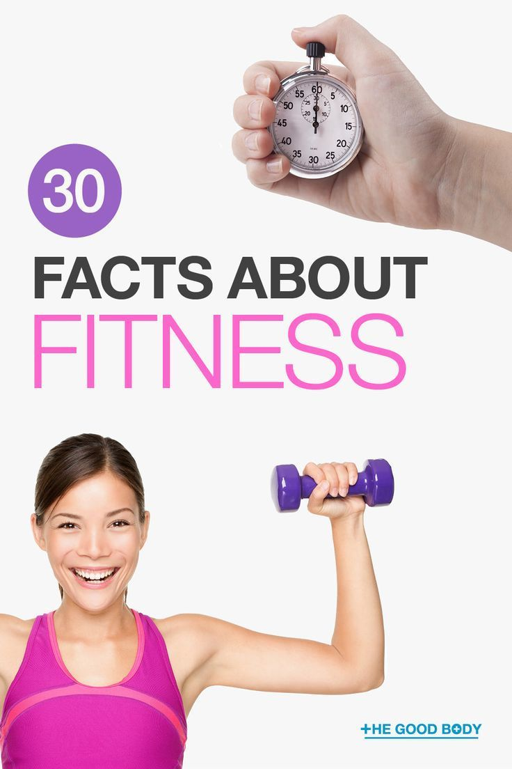 Fitness is an important component to being healthy. Here we bring you 30 fitness facts to help you u...