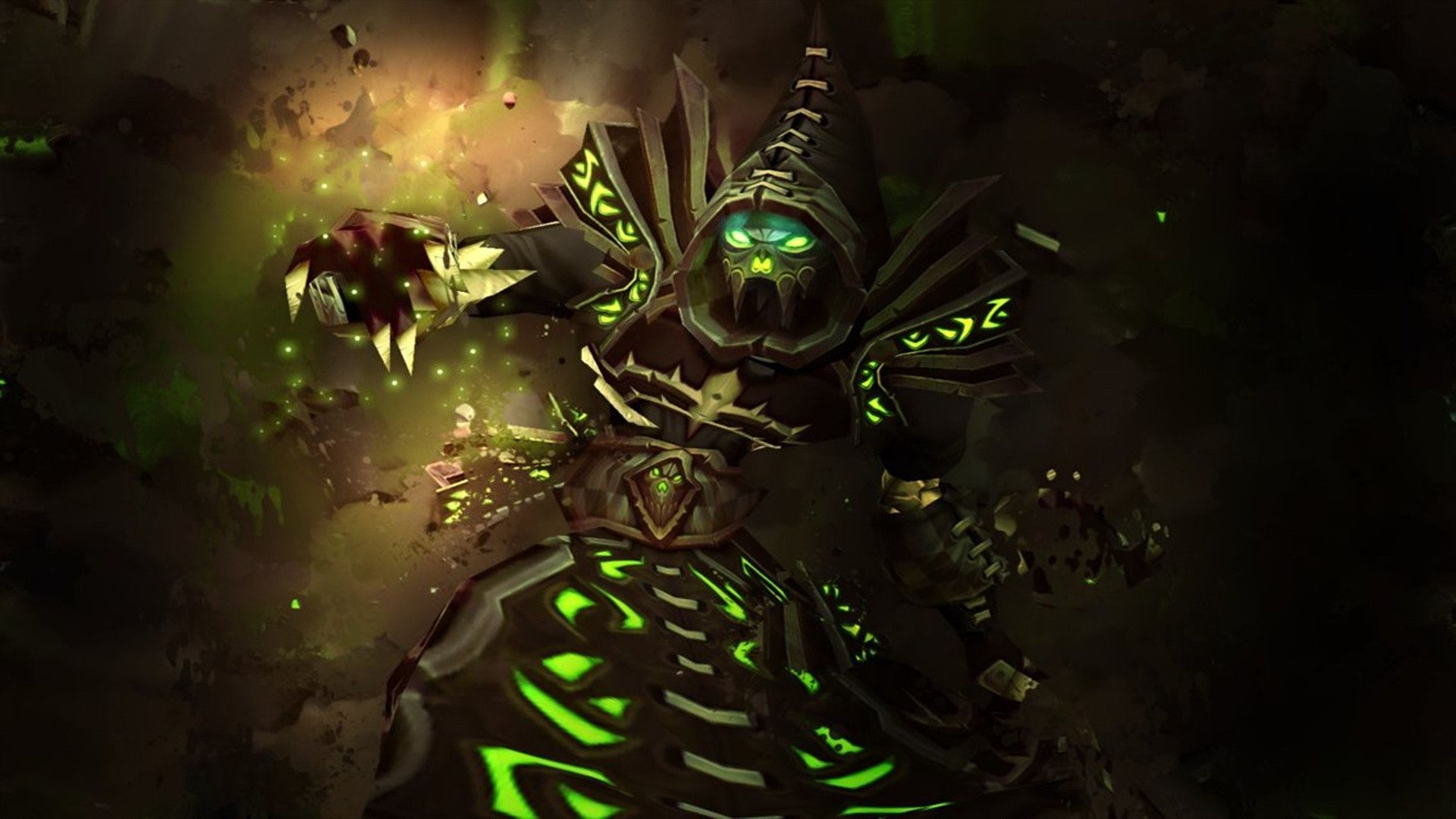 World Of Warcraft Warlock Wallpapers Wallpaper Cave En